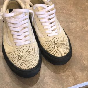 Custom Vans old skools